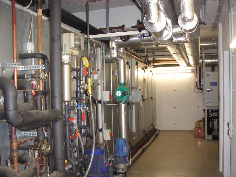RLT-Klimaanlage, 35.000 m³/h