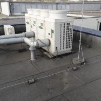 Kältemschine auf dem Dach